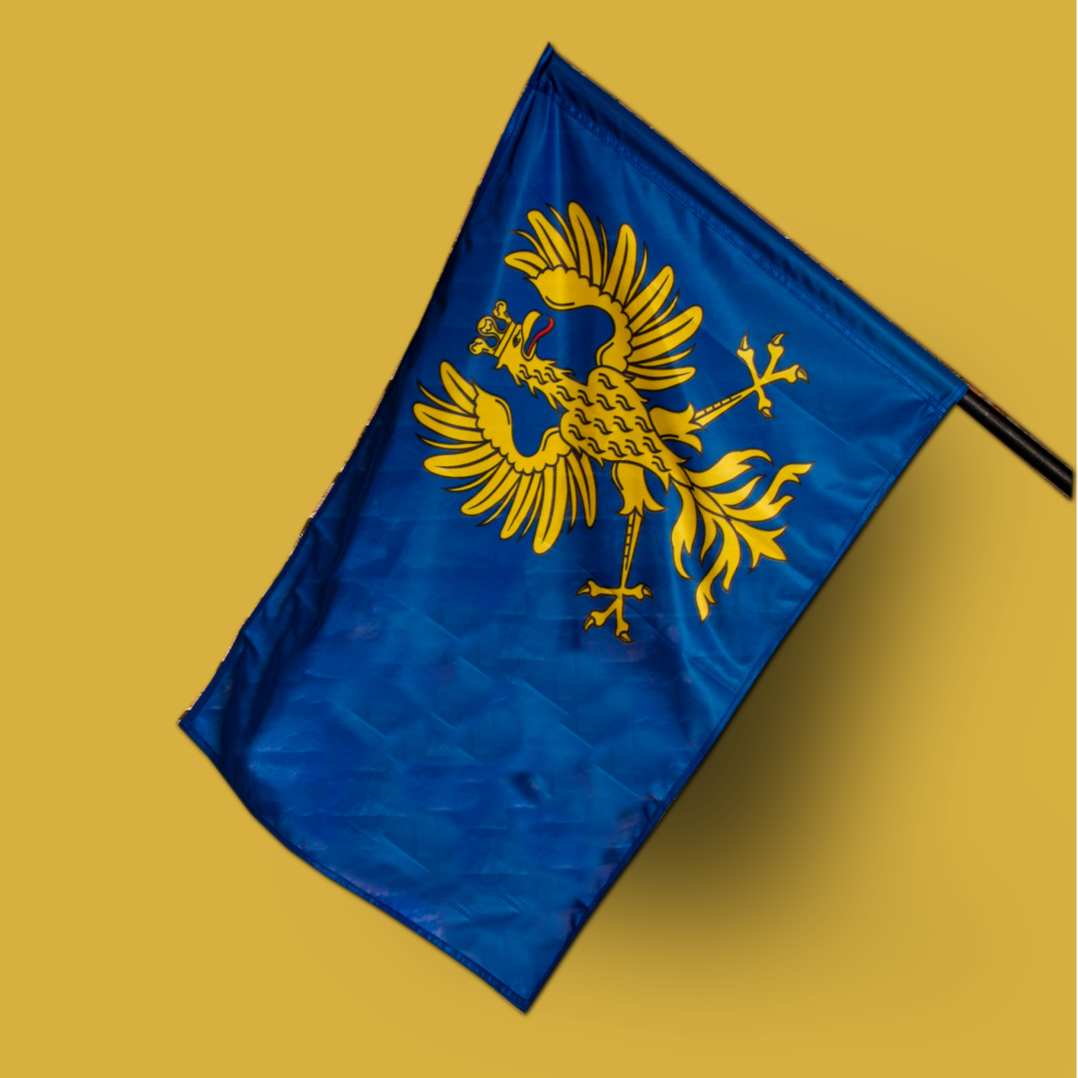 (Polski) Flaga Księstwa Cieszyńskiego elewacyjna/ masztowa
